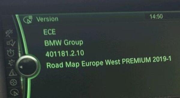 BMW Navigations update Road Map Europe West PREMIUM 3xUSB 2019-1 in ...