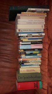 Flohmarktkiste über 70 Bücher Flohmarktartikel