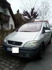 Biete Opel Zafira Automatik mit