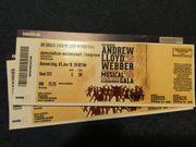 Musicalgala Andrew Lloyd Webber Darmstadt