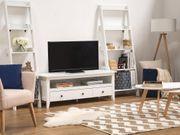 TV Möbel weiss 3 Schubladen