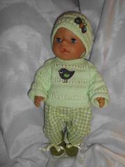 süsses Puppen-Set 5 tlg für