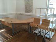 Metallregale - Tische - Schreibtisch -