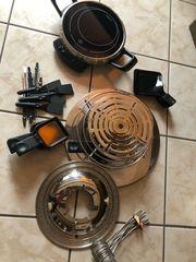 AMC Raclette Fondue Set