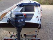 Rauwassertugliches Angelboot mit