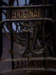 Antik Original ANKER Nähmaschine Gusstisch