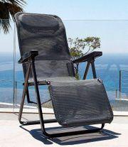 Relaxsessel Lugano Ergotex-Gewebe verstellbar anthrazit
