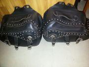 Motorrad Satteltaschen Leder