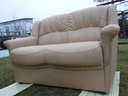 2er Leder Sofa-