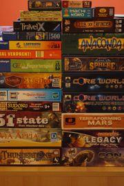 Spielesammlung Spielepaket Brettspiele Familienspiele