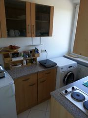 Küchenzeile 2 5m mit Hängeschränken