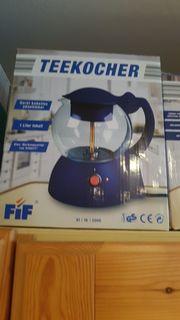 elektrischer Teekocher kabellos NEU UNGEBRAUCHT