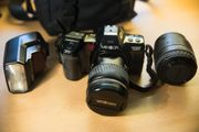 Analoge Kamera (Minolta