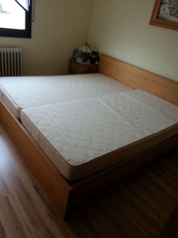 Doppelbett zu verkaufen » Betten