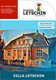 VILLA LETSCHIN Herrenhaus