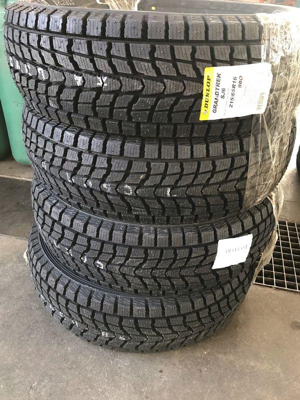 4x Dunlop Grandtrek Winterreifen NEU