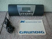 Verkaufe Grundig Radiowecker Sonoclock 500
