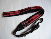 Original Nikon Trageriemen Kameragurt Schultergurt