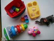 Diverses Babyspielzeug ab