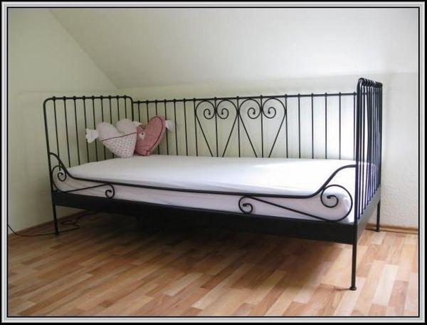 Ikea Meldal Bett 90x200 Cm Hövåg Matratze Schlafsofagästebett In