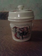 Terrine, kleiner Keramik