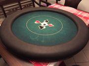 EXCLUSIVE Pokertischplatte rund