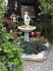 Gartendeko Brunnen Steinguß