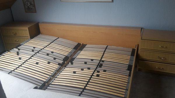 Komplettschlafzimmer mit Matratze und Lattenrost in Langenzenn ...
