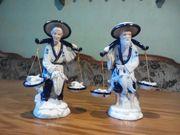 Porzellanfiguren Fischer und seine Frau