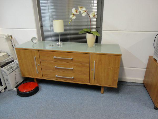 Chef-Büro im Retrostil - sehr guter Zustand - neuwertig in ...