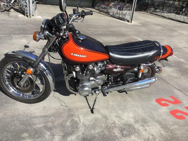 Kawasaki Z1 900 Oldtimer Klassiker