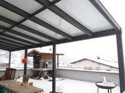 TOP Terrassenüberdachung Markise Glasdach Wintergarten