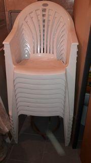 Stapelstuhl - Gartenstuhl - Stühle