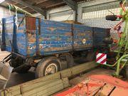 Anhänger Getreidewagen Käsbohrer Plattformanhänger Heuwagen