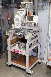 SWF E-T601 C vollelektronische Stickmaschine
