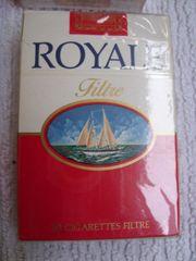 Für Sammler Zigaretten Royale 70er