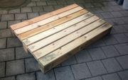 Holzpalette 120 x 80 Vollholz