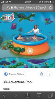 3 D Swimmingpool
