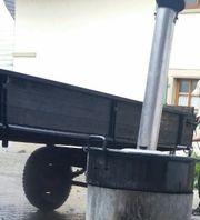 gebrauchter traktoranhänger