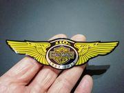 Aufkleber 3D aus Aluminium Harley