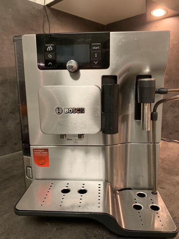 Bosch Kaffeevollautomat TES 805 Edelstahl