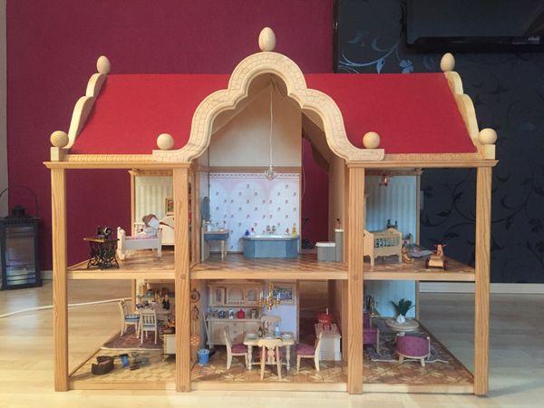 fachwerk puppenhaus kaufen fachwerk puppenhaus gebraucht. Black Bedroom Furniture Sets. Home Design Ideas