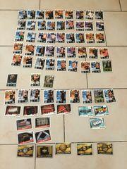 WWE Karten Sammlung