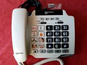 Seniorentelefon geemarc PhotoPhone 100 weiß