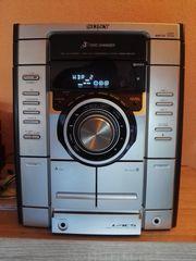 Sony Kompaktanlage mit 3-fach-CD-Wechsler ohne
