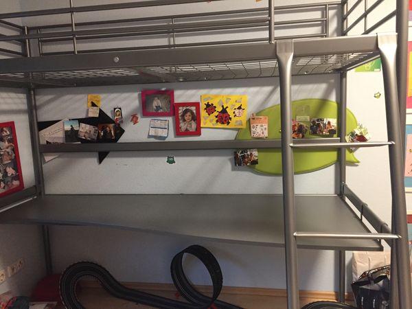 Etagenbett Ikea Kinder : Hochbett ikea mit arbeitsplatte in neckargemünd kinder