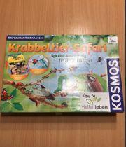 Experimentieren krabbeltier safari