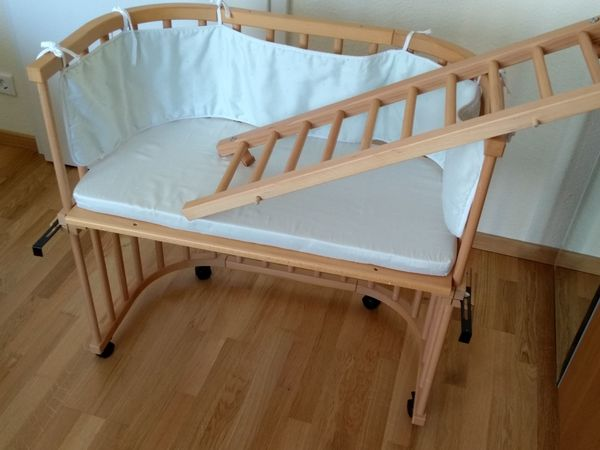 Babybay original mit zubehör in erlangen wiegen babybetten