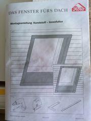 Roto Dachfenster Kunststoff- Innfutter Breiten-