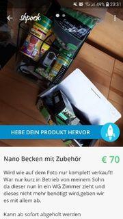 Nano Becken 30L Verkauf Tausch